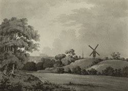 A view of Norwich from Trowse